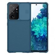 NILLKIN CamShield Σκληρή Θήκη με Πορτάκι για την Κάμερα για Samsung Galaxy S21 Ultra 5G - Μπλε