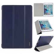 AMORUS Θήκη Βιβλίο Tri-Fold με Βάση Στήριξης για iPad Air 2 / iPad Air (2013) / iPad 9.7 (2018) / iPad 9.7 (2017) - Σκούρο Μπλε