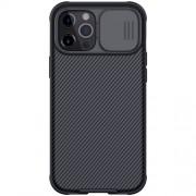 NILLKIN CamShield Σκληρή Θήκη με Πορτάκι για την Κάμερα για iPhone 12 Pro Max - Μαύρο