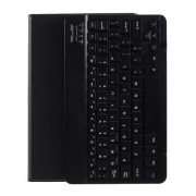 Bluetooth Keyboard Leather Stand Cover Case for Lenovo Tab M10 HD Gen 2 X306F - Black