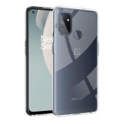 Anti-fingerprint Clear Soft TPU Phone Casing for OnePlus Nord N100