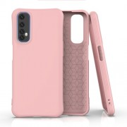 Matte TPU Back Cell Phone Case for Realme 7 - Pink
