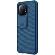NILLKIN CamShield Σκληρή Θήκη με Πορτάκι για την Κάμερα για Xiaomi Mi 11 - Μπλε