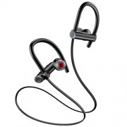USAMS US-YD004 S4 Ακουστικά Bluetooth 5.0 Λαιμού με Μικρόφωνο - Μαύρο