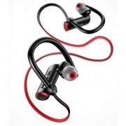 USAMS US-YD004 S4 Ακουστικά Bluetooth 5.0 Λαιμού με Μικρόφωνο - Μαύρο / Κόκκινο