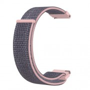20mm Loop Fastener Nylon Weaven  Smart Watch Strap for Huami Amazfit GTR 42MM / Amazfit GTS - Pink/Blue