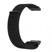 20mm Loop Fastener Nylon Weaven  Smart Watch Strap for Huami Amazfit GTR 42MM / Amazfit GTS - Black
