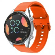 22mm Silicone Watch Band Strap for Huawei Watch GT / Watch GT2 / Watch Active - Orange