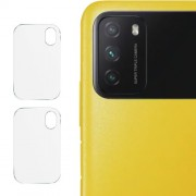 IMAK Σκληρυμένο Γυαλί (Tempered Glass) Προστασίας Κάμερας για Xiaomi Poco M3 (2 τεμάχια)