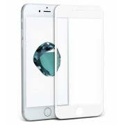 9H Full Cover Tempered Glass Screen Protective Film for iPhone 6s Plus / 6 Plus (Asashi Glass) - White