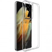 IMAK UX-5 Series Θήκη Σιλικόνης TPU για Samsung Galaxy S21 Ultra - Διάφανο