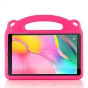 Drop-proof EVA Θήκη Ενισχυμένη για Παιδιά Σχέδιο Πάντα για Samsung Galaxy Tab A 10.1 (2019) SM-T510/T515 - Φούξια