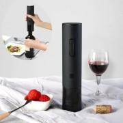 XIAOMI Huohou Ηλεκτρικό Επαναφορτιζόμενο Ανοιχτήρι για Μπουκάλια Κρασιού - Μαύρο