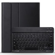 Detachable Wireless Bluetooth Keyboard Leather Case for iPad Pro 11-inch (2018) - Black