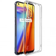 IMAK UX-5 Series Clear TPU Back Protective Cover for Realme 7 Shell