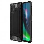 Armor Guard PC + TPU Combo Protective Case for Motorola Moto G9 Plus - Black