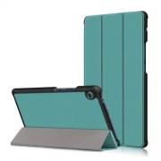 Δερμάτινη Θήκη Βιβλίο Tri-Fold με Βάση Στήριξης για Huawei MatePad T8 - Πράσινο