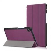 Δερμάτινη Θήκη Βιβλίο Tri-Fold με Βάση Στήριξης για Huawei MatePad T8 - Μωβ