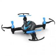 JJRC H48 Mini Drone Ελικοπτεράκι με Τέσσερις Έλικες και Χειριστήριο Πολήγησης - Μπλε