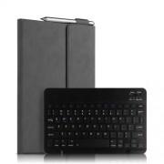 Detachable 2 in 1 Bluetooth Keyboard Tablet Case for Huawei MediaPad M6 10,8-inch - Grey/Black Keyboard