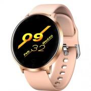 LEMONDA SMART K12 1.3-inch Έξυπνο Ρολόι Heart Rate Monitoring Waterproof - Ροζέ Χρυσαφί