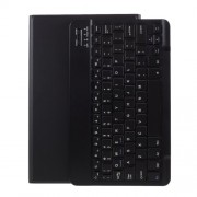 Bluetooth Keyboard Leather Stand Case for Lenovo Tab M10 Plus - Black