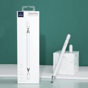 WIWU Πενάκι Αφής και Στυλό για Ζωγραφική για όλες τις Συσκευές που έχουν Οθόνη Αφής - Λευκό
