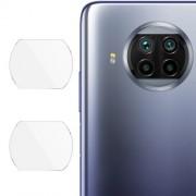 2Pcs/Set IMAK Clear Glass Camera Lens Film for Xiaomi Mi 10T Lite 5G