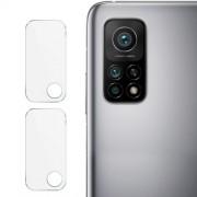 2Pcs/Set IMAK Clear Glass Camera Lens Film for Xiaomi Mi 10T Pro 5G / Mi 10T 5G