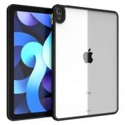 Mant Series PC + TPU Frame Hybrid Cover Case for iPad Air (2020) - Black