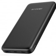 BlitzWolf BW-P9 QC 3.0 10000mAh Power Bank Type-C 1xUSB 18W - Μαύρο