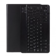 Wireless Bluetooth Keyboard Leather Stand Cover for Honor Pad 6/Huawei MediaPad T3 10.1/C3 10.1/Enjoy Tablet 2 - Black