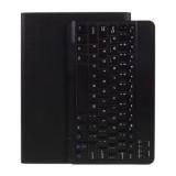 Universal Δερμάτινη Θήκη Βιβλίο με Ασύρματο Πληκτρολόγιο για Tablet 9.7 με 10 ίντσες - Μαύρο
