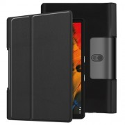 Leather Cover for Lenovo Yoga Smart Tab 10.1/Tab 5 YT-X705 with Stand Tablet Case - Black