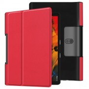 Leather Cover for Lenovo Yoga Smart Tab 10.1/Tab 5 YT-X705 with Stand Tablet Case - Red