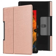 Leather Cover for Lenovo Yoga Smart Tab 10.1/Tab 5 YT-X705 with Stand Tablet Case - Rose Gold