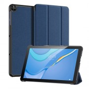 DUX DUCIS Tri-fold Stand PU Leather Tablet Case for Huawei MatePad T10/T10s - Blue