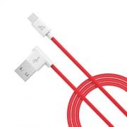 HOCO UPM10 L Καλώδιο Φόρτισης και Δεδομένων Micro USB Γρήγορης Φόρτισης 1 μέτρο - Κόκκινο
