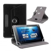 Universal 360-degree Rotary Stand Leather Case for Samsung Tab 3 7.0 P3200/LG G Pad 7.0 - Black
