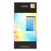 RURIHAI 9H 3D Σκληρυμένο Γυαλί (Tempered Glass) Προστασίας Οθόνης Πλήρης Κάλυψης για Samsung Galaxy S8 G950 (Case Friendly) - Μαύρο