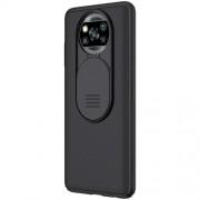NILLKIN CamShield Case Hard PC Phone Cover for Xiaomi Poco X3 NFC - Black