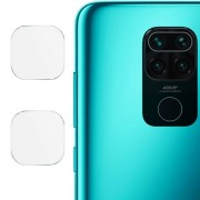 IMAK 2Pcs/Pack High Definition Glass Clear Camera Lens Protector for Xiaomi Redmi Note 9/10X 4G