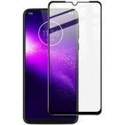 IMAK Pro+ Full Coverage Tempered Glass Screen Protector for Motorola One Macro/Moto G8 Play
