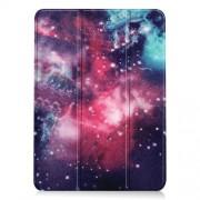 Δερμάτικη Θήκη Βιβλίο Tri-Fold με Βάση Στήριξης για iPad Air (2020) - Γαλαξίες