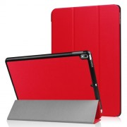 For iPad Air 10.5 (2019) / Pro 10.5-inch (2017) Tri-fold PU Leather Smart Stand Case Accessory - Red