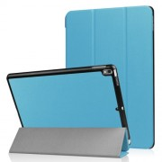 For iPad Air 10.5 (2019) / Pro 10.5-inch (2017) Tri-fold PU Leather Smart Stand Case Accessory - Baby Blue