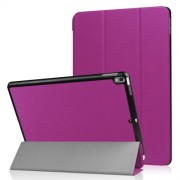 For iPad Air 10.5 (2019) / Pro 10.5-inch (2017) Tri-fold PU Leather Smart Stand Case Accessory - Purple
