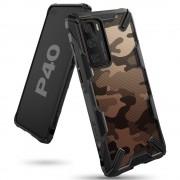 Ringke Fusion-X Huawei P40 Camo (Moro) Black