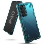Ringke Fusion-X Huawei P40 Turquoise Green