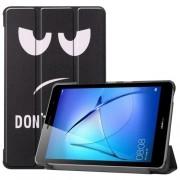 Δερμάτινη Θήκη Βιβλίο Tri-Fold με Βάση Στήριξης για Huawei MatePad T8 - Do not Touch Me